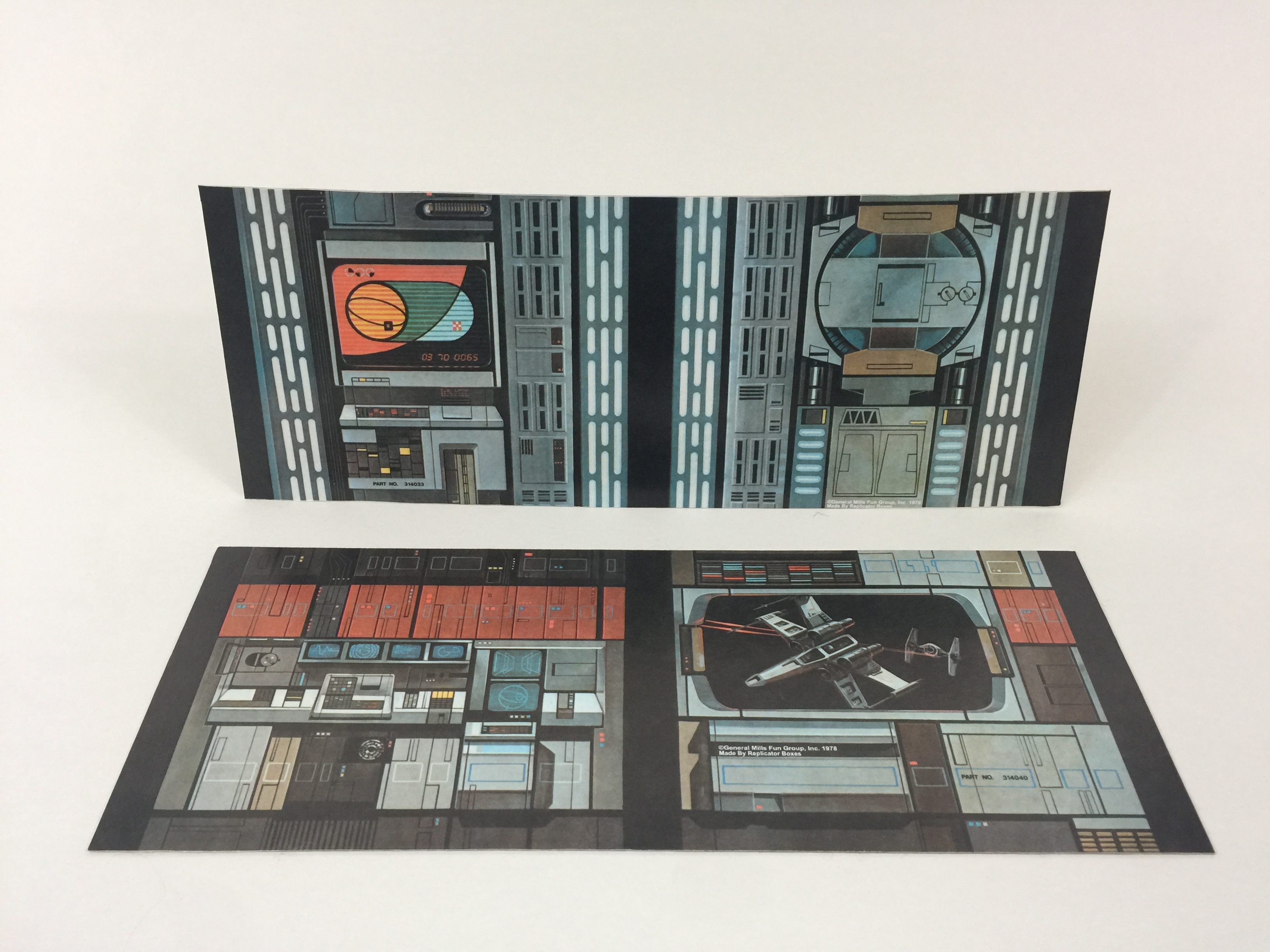 Replacement Vintage Star Wars Kenner Death Star Wall