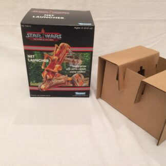 Custom Vintage Star Wars The Power Of The Force Net Launcher box and inserts