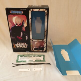 "Custom Vintage Star Wars 12"" Figrin Dan Cantina Band Member box and inserts"