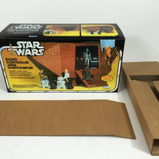 Replacement Vintage Star Wars Jawa Sandcrawler box and inserts