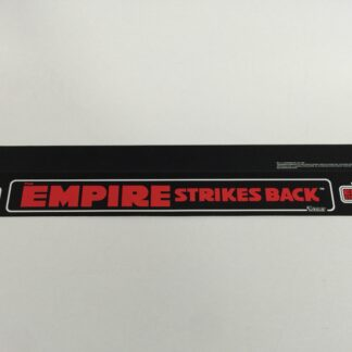 "Replacement Vintage Star Wars Kenner Empire Strikes Back shelf talker 23"" long"