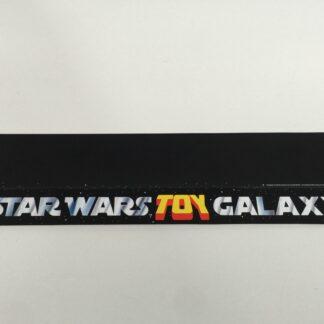 "Replacement Vintage Star Wars 20"" long Toy Galaxy shelf talker"