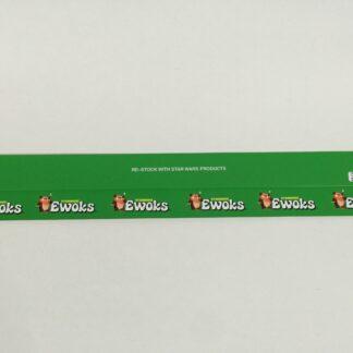 """Vintage Star Wars Ewoks custom shelf talkers 24"""" long x 3 versions"""
