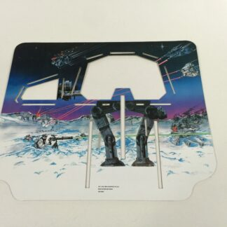 Replacement Vintage Star Wars Empire Strikes Back Hoth Ice Planet backdrop only