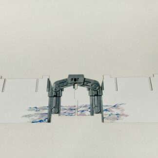 Replacement Vintage Star Wars Empire Strikes Back Hoth Ice Planet door / supports only