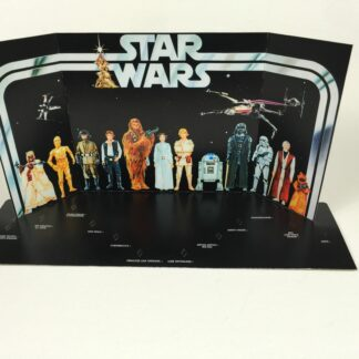 Replacement Vintage Star Wars Early Bird display backdrop