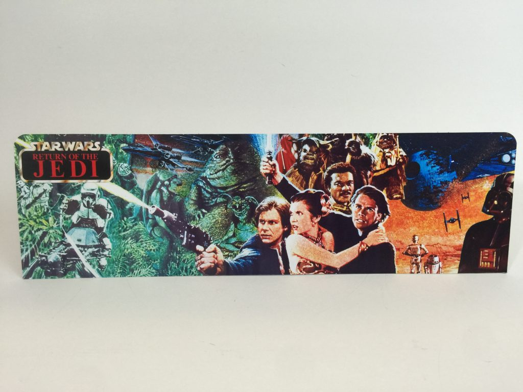 Sungard Exhibition Stand Here Alone : The return of jedi custom display backdrop diorama for