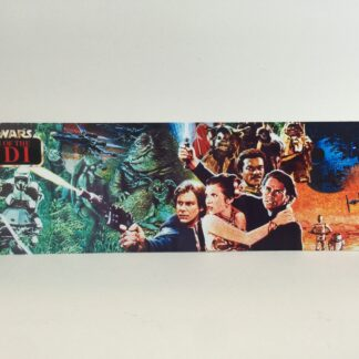 Return Of The Jedi custom display backdrop for use with original grey mail away stand or stand alone