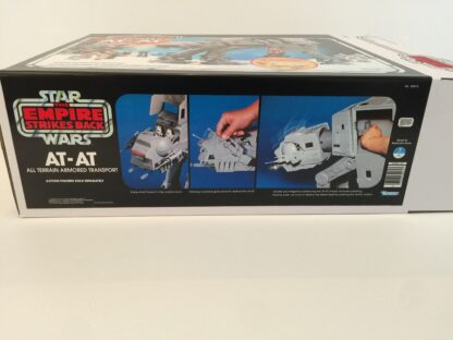 Replacement Vintage Star Wars Empire Strikes Back 2nd edition AT-AT box and inserts