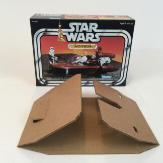 Replacement Vintage Star Wars kenner Land Speeder box and inserts