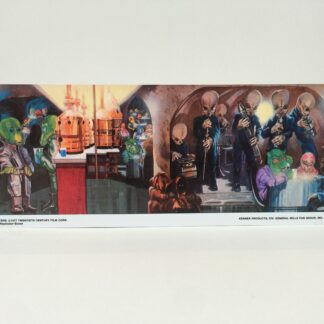 Replacement Star Wars Kenner Creature Cantina backdrop