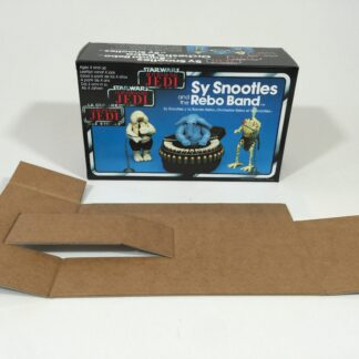 Replacement Vintage Star Wars Return Of The Jedi Sy Snootles And The Rebo band box and inserts