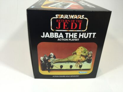 Replacement Vintage Star Wars Return Of The Jedi Jabba The Hutt playset box and inserts