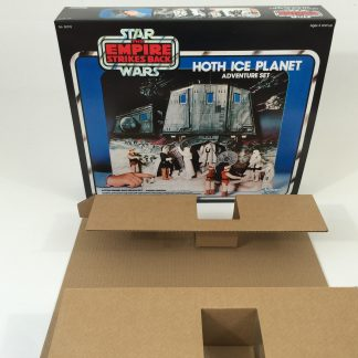 Replacement Vintage Star Wars Empire Strikes Back Hoth Ice Planet box and inserts