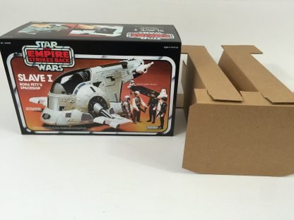 Replacement Vintage Star Wars Empire Strikes Back Slave One box and inserts