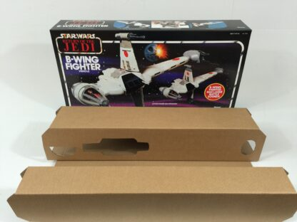 Replacement Vintage Star Wars Return Of The Jedi B-wing box and inserts