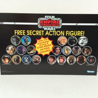 Reproduction Vintage Star Wars Empire Strikes Back prototype Free Secret Figure display header