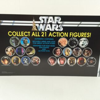 Replacement Vintage Star Wars Collect All 21 store shop display header