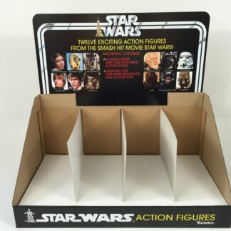 Replacemant Vintage Star Wars 12-Back display bin and header