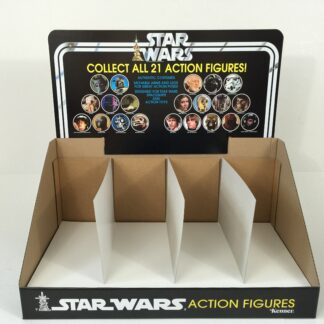 Reproduction Vintage Star Wars Collect All 21 display bin and header