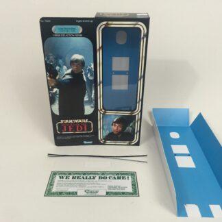 "Custom Vintage Star Wars Return Of The Jedi 12"" Luke Skywalker Jedi Knight box and insert"