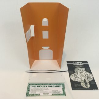 "Replacement Vintage Star Wars 12"" Boba Fett box insert"