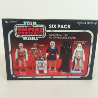 Replacement Vintage Star Wars Empire Strikes Back red 6-pack box