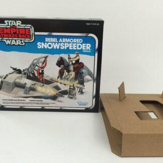 Replacement Vintage Star Wars Empire Strikes Back Snowspeeder blue box and insert