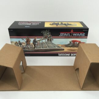 Replacement Vintage Star Wars Power Of The Force Tatooine Skiff box and insert