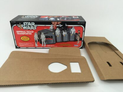 Replacement Vintage Star Wars Imperial Troop Transport box and insert