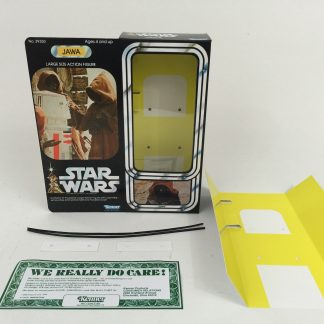 "Replacement Vintage Star Wars 12"" Jawa box + inserts"
