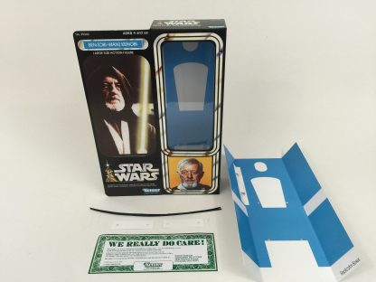 "Replacement Vintage Star Wars 12"" Ben Obi-Wan Kenobi box + inserts"