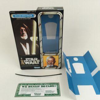 """Replacement Vintage Star Wars 12"""" Ben Obi-Wan Kenobi box + inserts"""