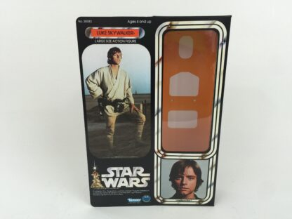 "Replacement Vintage Star Wars 12"" Luke Skywalker box + inserts"