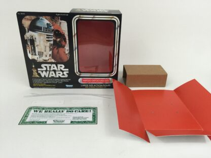 "Replacement Vintage Star Wars 12"" R2-D2 box + inserts"