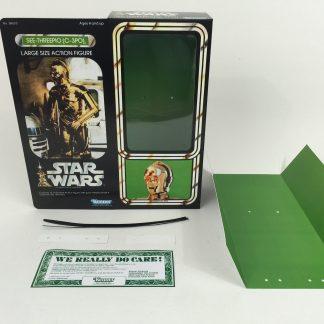 "Replacement Vintage Star Wars 12"" C3-PO C-3PO box + inserts"