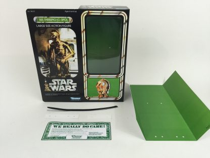 "Replacement Vintage Star Wars 12"" C3-PO C-3PO box + inserts"