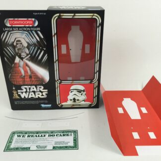 "Replacement Vintage Star Wars 12"" Stormtrooper box + inserts"