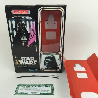 "Replacement Vintage Star Wars 12"" Darth Vader box + inserts"