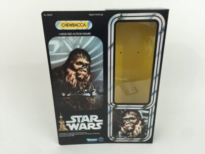 "Replacement Vintage Star Wars 12"" Chewbacca box + inserts"