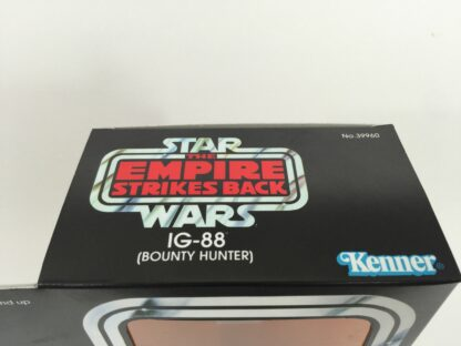 "Replacement Vintage Star Wars 12"" Empire Strikes Back IG-88 IG88 box + inserts"