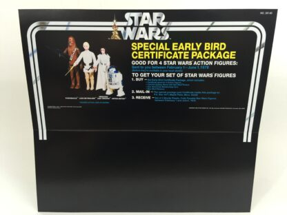 Replacement Vintage Star Wars Early Bird Certificate store shop display header