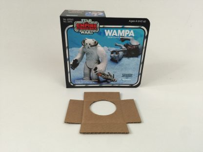 Replacement Vintage Star Wars Empire strikes Back Wampa box and insert