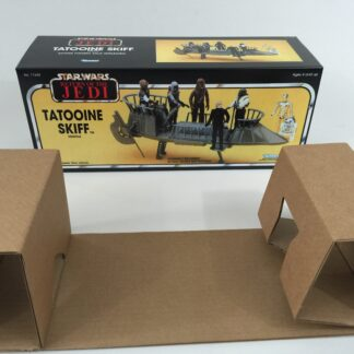 Custom Vintage Star Wars Return Of The Jedi Tatooine Skiff box and insert