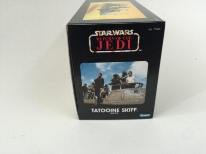 Custom Vintage Star Wars Return Of The Jedi Tatooine Skiff box and insert