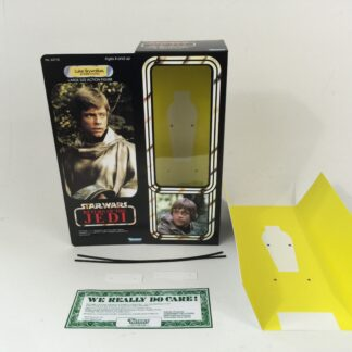 "Custom Vintage Star Wars Return Of The Jedi 12"" Luke Skywalker Battle Poncho box and insert"