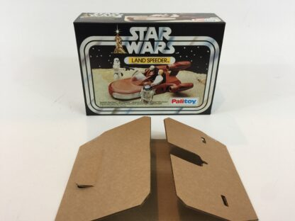 Replacement Vintage Star Wars Palitoy Land Speeder box and insert