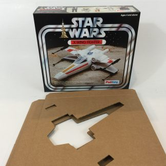 Replacement Vintage Star Wars Palitoy X-wing box and insert