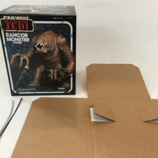 Replacement Vintage Star Wars Return Of The Jedi Rancor Monster box and insert