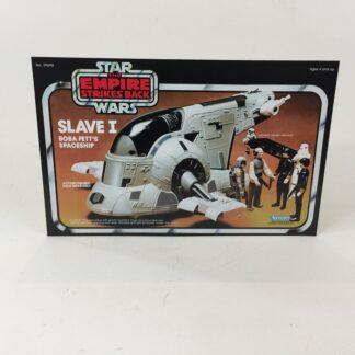 Vintage Star Wars Esb Slave One box front only backdrop display ideal for displaying loose collection